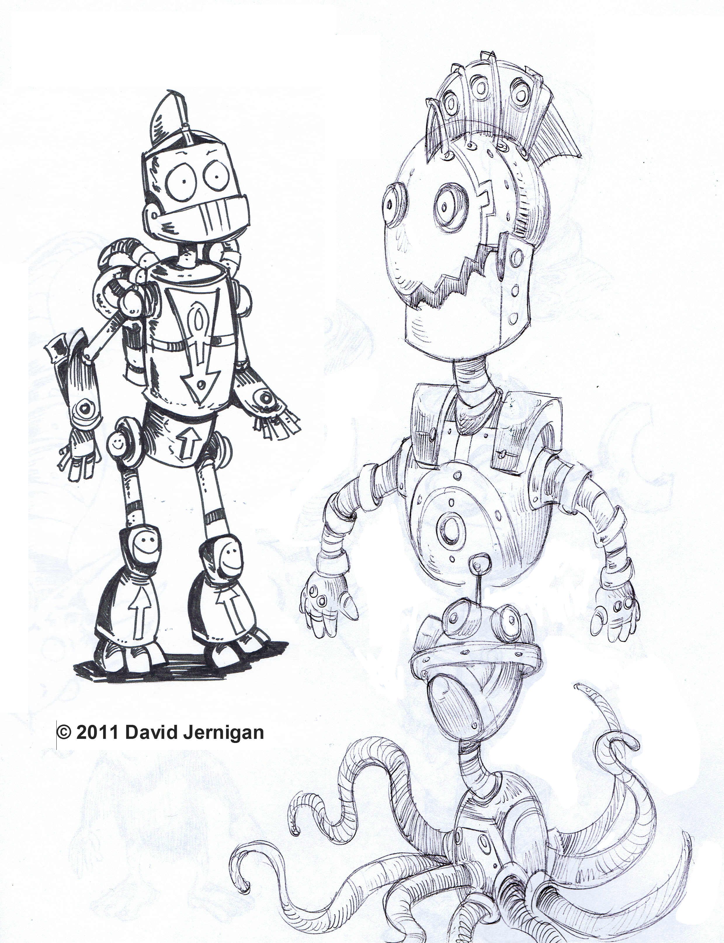 Robot Sketch Drawing Drawings From my Sketch
