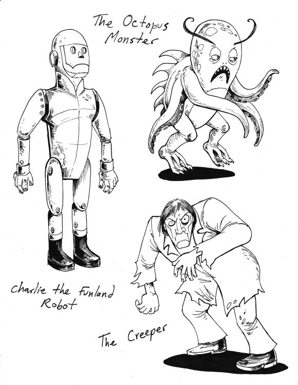 Creeperandother monsters