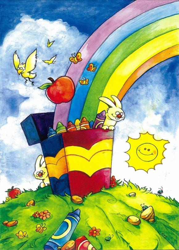 Rainbowillustration