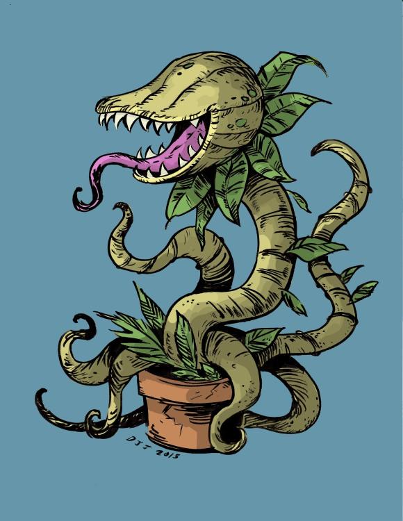 Plantmonster  .