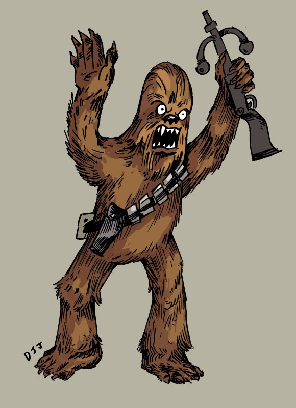 chewbaccadrawing