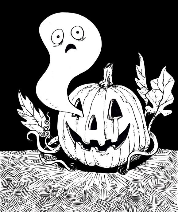 ghostandpumpkin