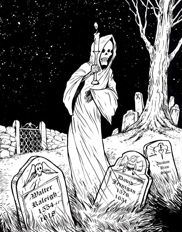 ghostinagraveyard