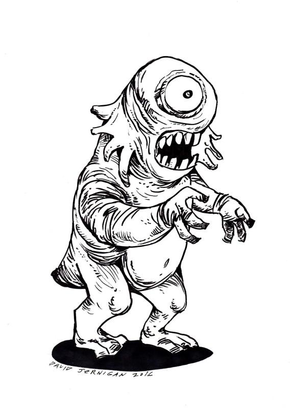 scaryeyemonster
